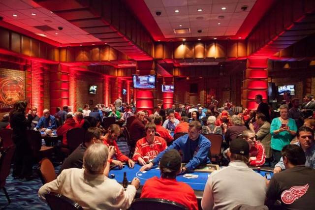 Motor city poker room